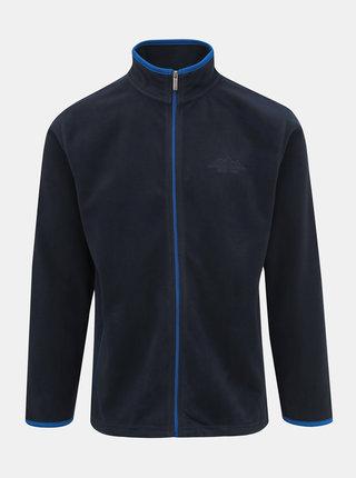 Tmavomodrá pánska fleecová mikina Blue Seven