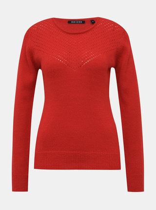 Červený dámsky sveter Blue Seven