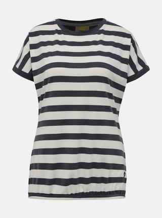 Šedo-bílé pruhované tričko Alife and Kickin Sunny