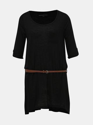 Čierne dámske dlhé tričko Blue Seven