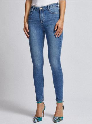 Modré skinny fit džíny Dorothy Perkins Shape & Lift