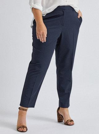 Tmavě modré kalhoty Dorothy Perkins Curve