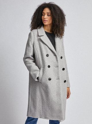 Šedý kabát Dorothy Perkins