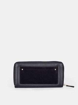 Černá peněženka s detaily v semišové úpravě Dorothy Perkins