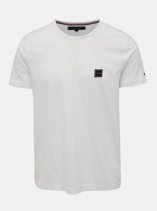 Biele pánske tričko Tommy Hilfiger Essential