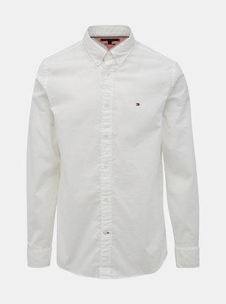 Biela pánska regular fit košeľa Tommy Hilfiger Classic