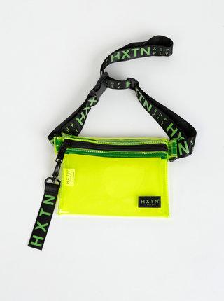 Zelená transparentní ledvinka HXTN Supply Prime