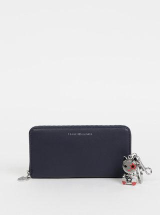 Tmavomodrá dámska peňaženka Tommy Hilfiger