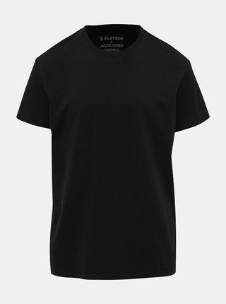 Čierne tričko Jack & Jones Playboy