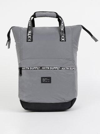 Šedý batoh HXTN Supply Prime Division