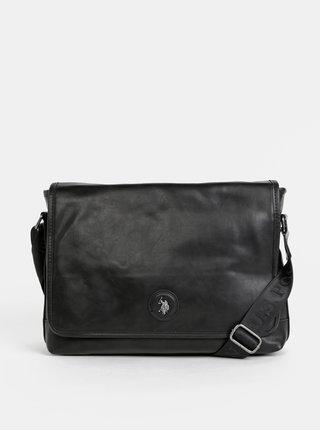 Černá taška na notebook U.S. Polo Assn. Scottdale