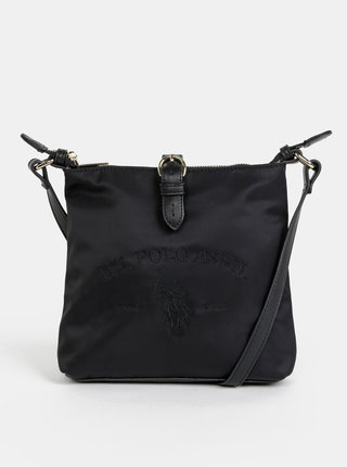 Černá crossbody kabelka U.S. Polo Assn. Patterson