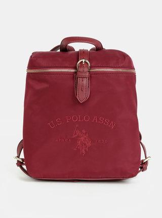 Vínový dámsky batoh U.S. Polo Assn. Patterson