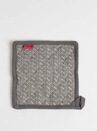 Béžovo-šedá vzorovaná podložka pod hrniec Tranquillo Valerie