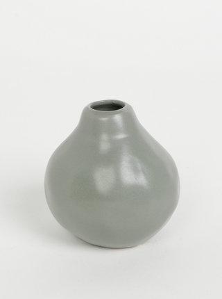 Šedá váza Tranquillo Jacques