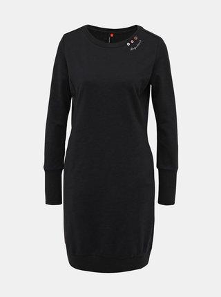 Čierne mikinové šaty Ragwear Menita