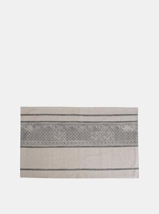 Světle šedý vzorovaný běhoun Tranquillo Zara