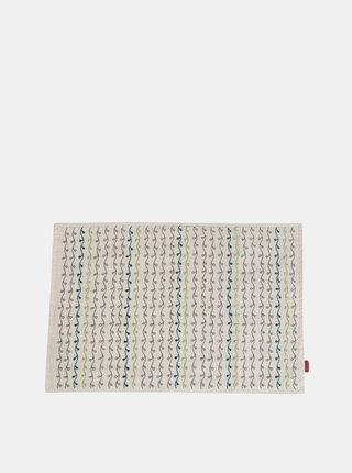 Béžový vzorovaný povlak na polštář Tranquillo Henni
