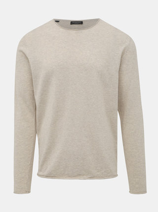 Béžový sveter Selected Homme
