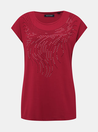Červené dámské tričko Blue Seven
