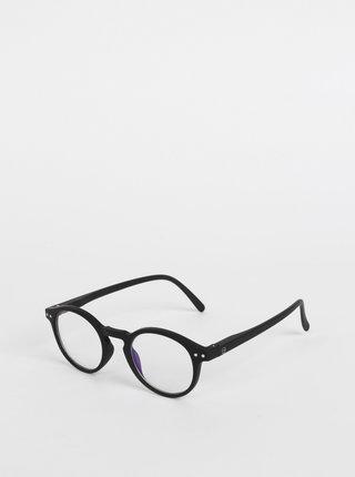 Černé ochranné brýle k PC IZIPIZI #H