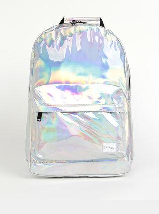 Dámský batoh ve stříbrné barvě Spiral OG