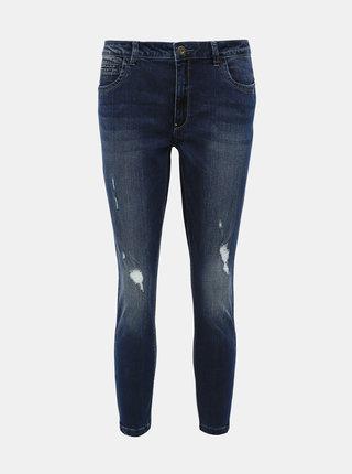 Tmavě modré skinny fit džíny ONLY Kendell