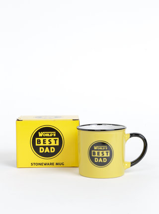 Žltý hrnček s potlačou CGB 250 ml