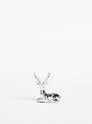 Stojan na šperky ve stříbrné barvě CGB