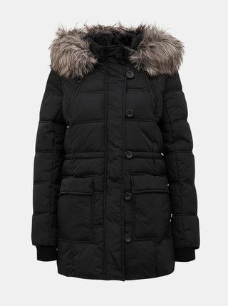 Černá prošívaná zimní bunda ONLY New Ottowa