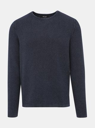 Tmavomodrý sveter ONLY & SONS Hugh