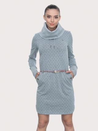 Šedé vzorované mikinové šaty Ragwear Laura B