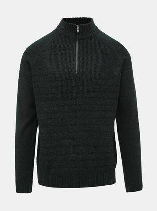 Tmavozelený sveter Burton Menswear London Scarab