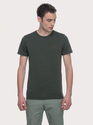 Tmavozelené pánske tričko Ragwear Nedie