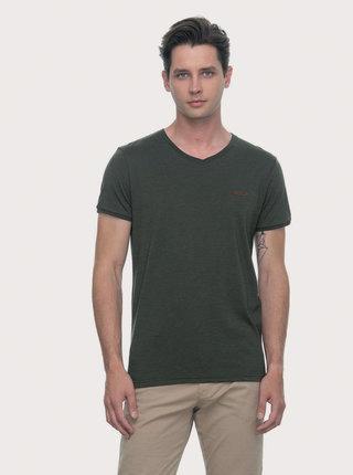 Tmavozelené pánske tričko Ragwear Venie