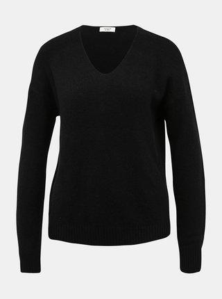 Čierny basic sveter Jacqueline de Yong Debbie