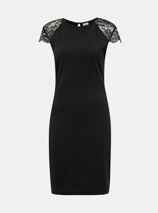 Čierne púzdrové šaty Jacqueline de Yong Pranaya