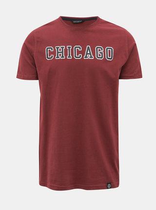 Vínové tričko s potlačou Shine Original