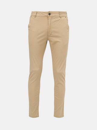 Béžové pánské chino kalhoty Roadsign