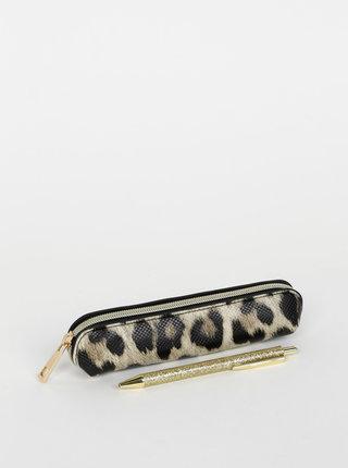 Sada propisky a penálu s leopardním vzorem Something Special