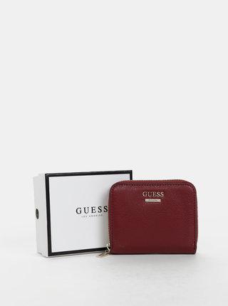 Vínová dámska peňaženka Guess
