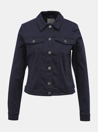 Tmavě modrá džínová bunda VERO MODA Soya
