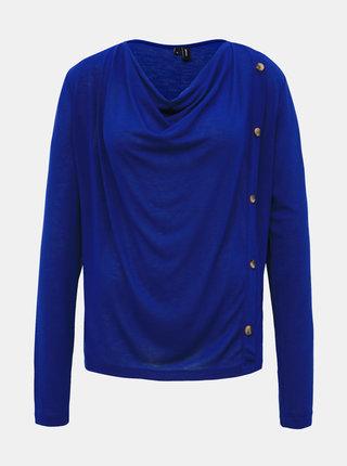 Modré tričko VERO MODA Firenze