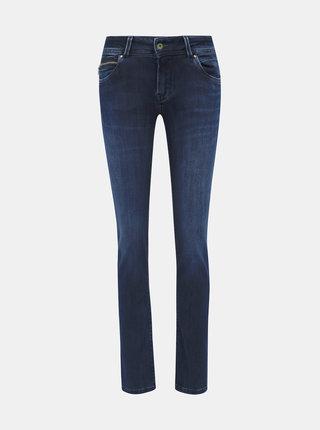 Tmavě modré dámské slim fit džíny Pepe Jeans New Brook
