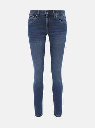 Modré dámské skinny fit džíny Pepe Jeans Pixie