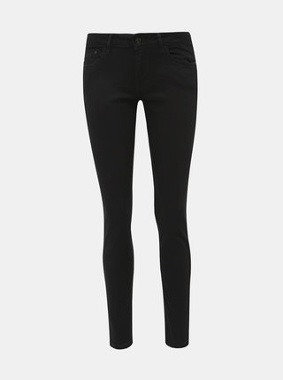 Čierne dámske skinny fit rifle Pepe Jeans Pixie