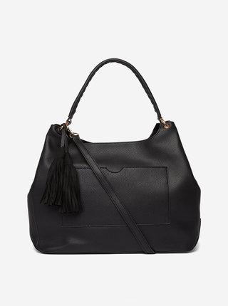 Černá kabelka s třásní Dorothy Perkins