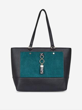 Zeleno-černá kabelka Dorothy Perkins