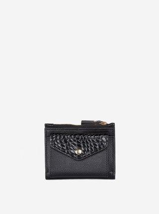 Černá peněženka s krokodýlím vzorem Dorothy Perkins