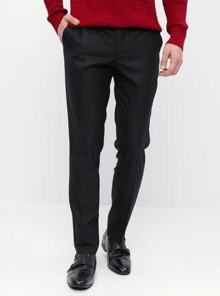 Černé slim fit kalhoty Selected Homme Mylostate
